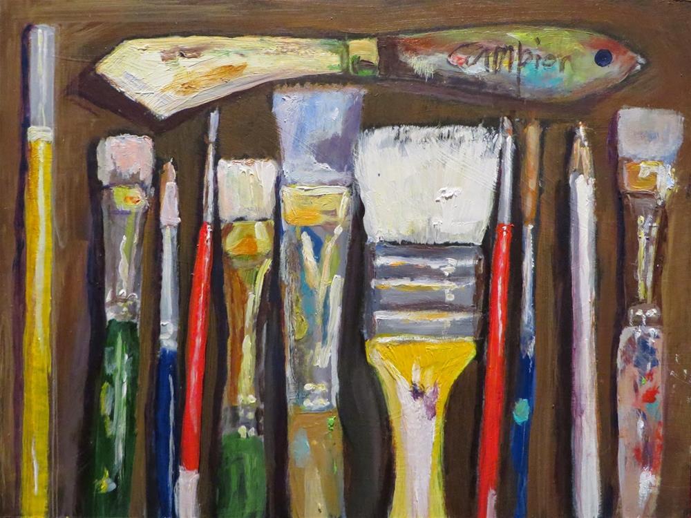 """529 Lineup"" original fine art by Diane Campion"