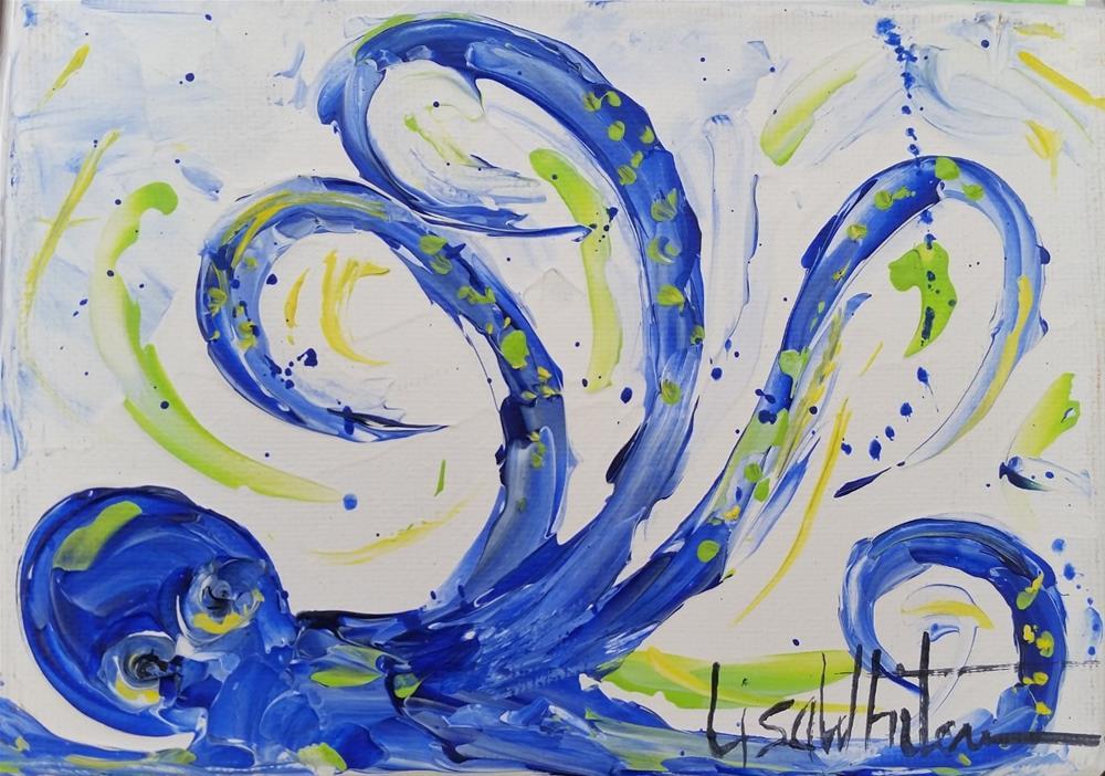 """20 - Charlie"" original fine art by Lisa Rogers"