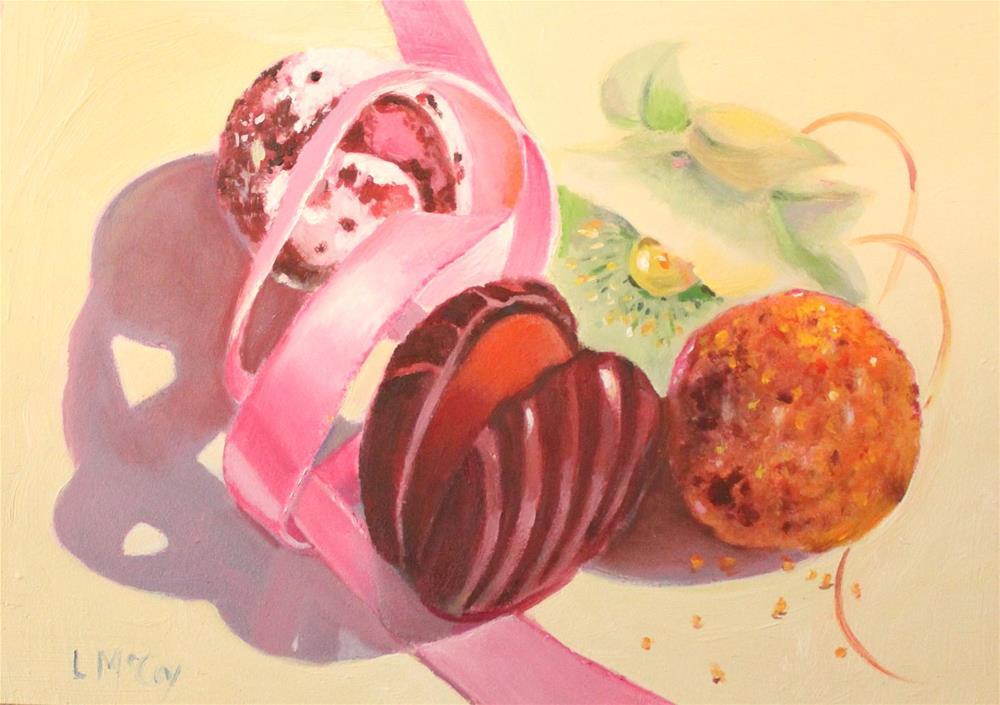 """Godiva Chocolates"" original fine art by Linda McCoy"