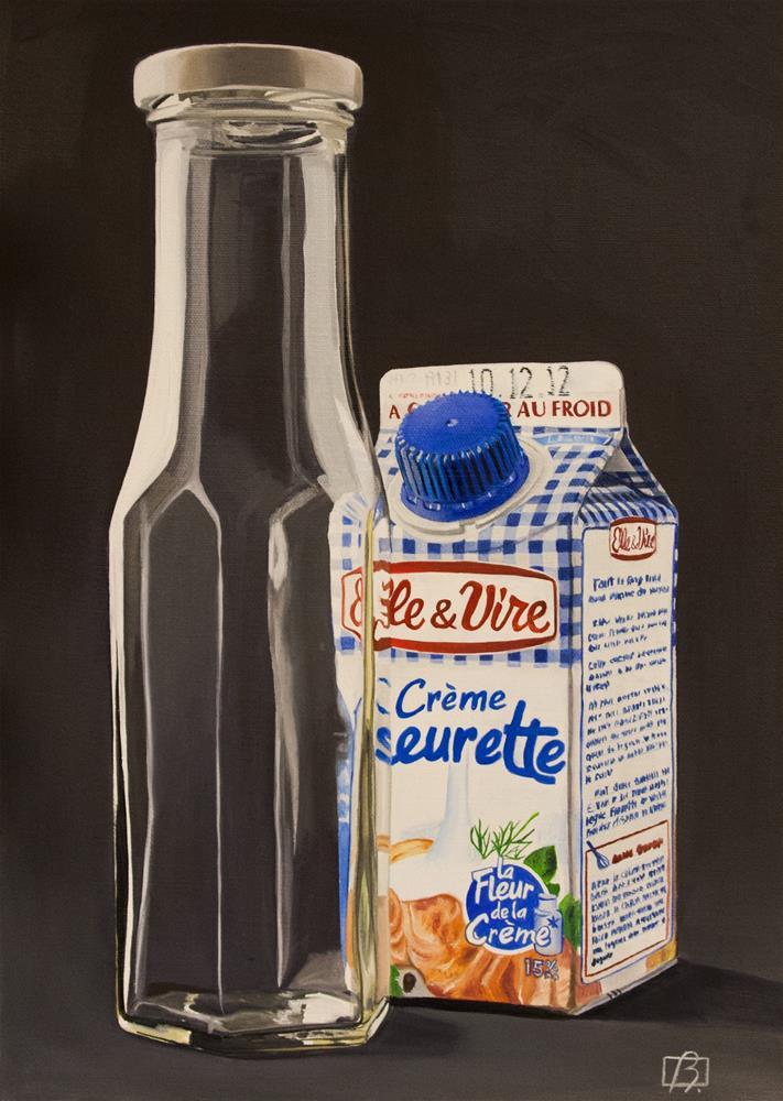 """""""Summer Cream"""" original fine art by Andre Beaulieu"""