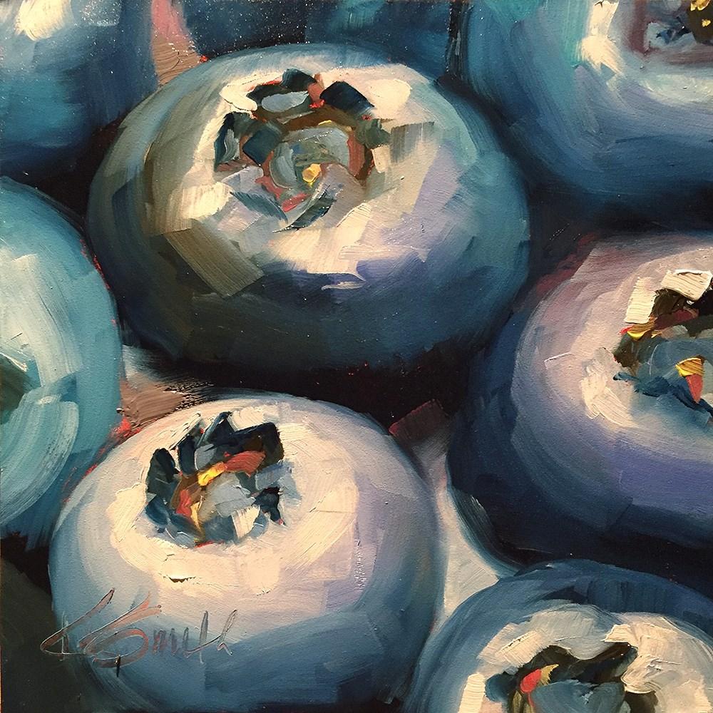 """monday blues"" original fine art by Kim Smith"