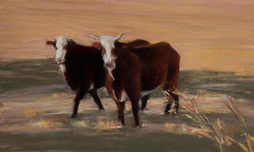"""Late Afternoon Stroll"" original fine art by Sarah Peroutka"