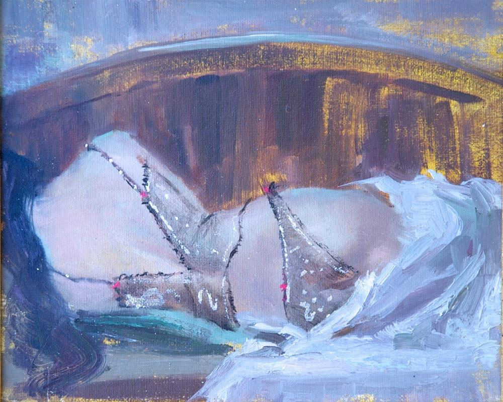 """Transparent"" original fine art by Johanna Spinks"