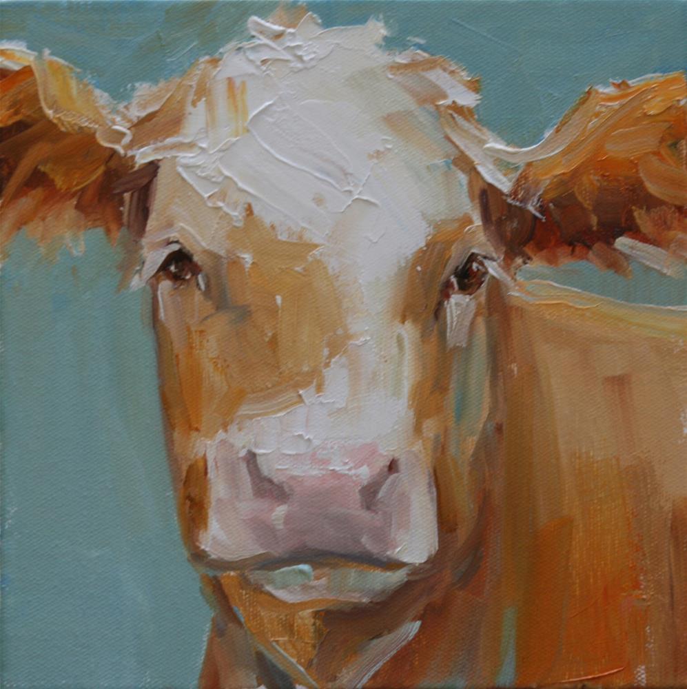 """""""oh girl"""" original fine art by Carol Carmichael"""