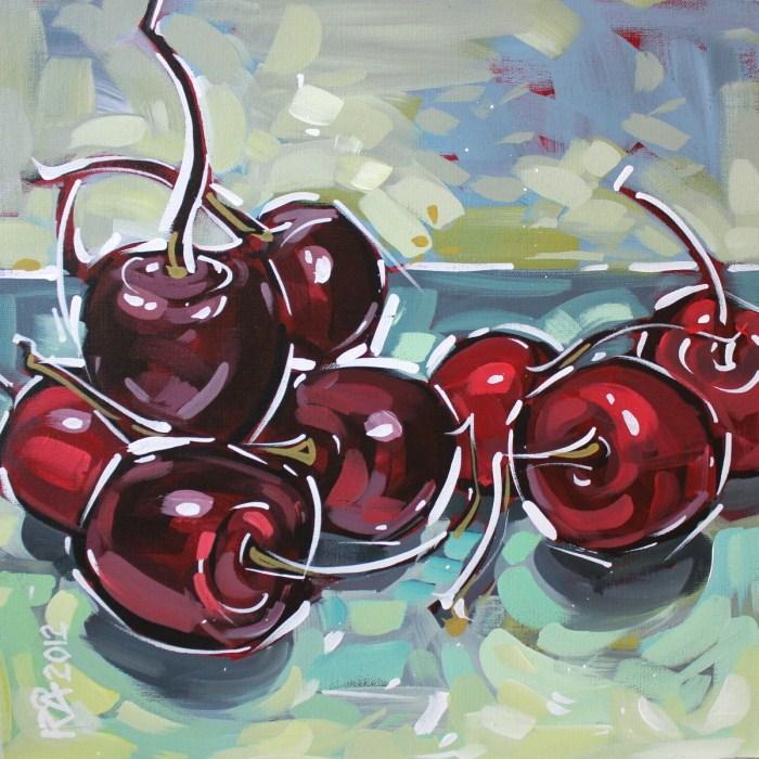 """Super Size Fruit 4"" original fine art by Roger Akesson"