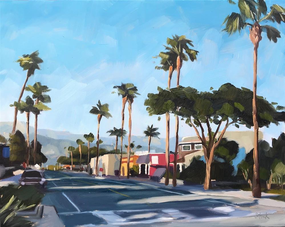 """""""Linden Avenue"""" original fine art by Sharon Schock"""
