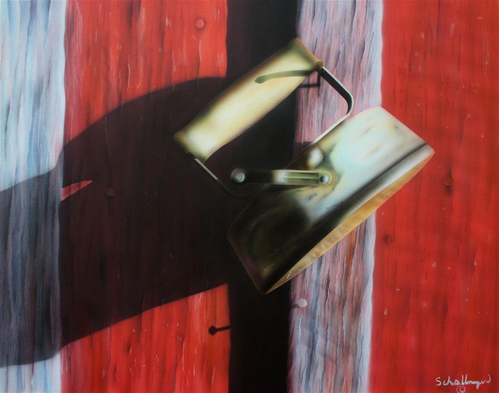 """""""Antique Iron"""" original fine art by Fred Schollmeyer"""