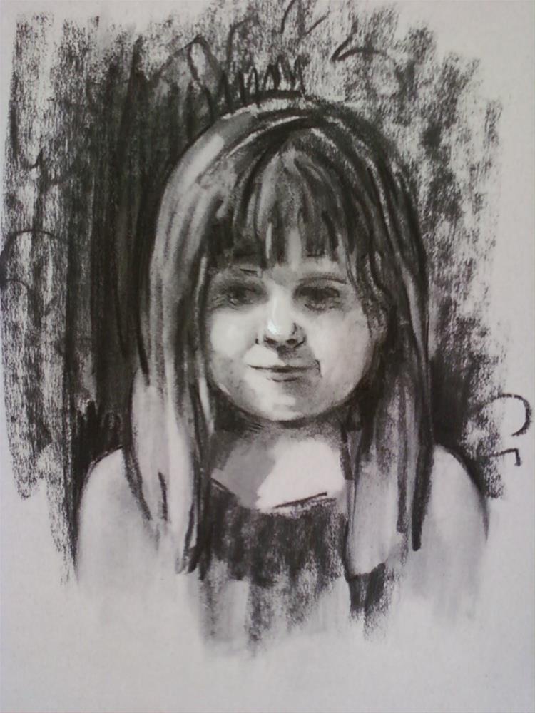 """""""Annie"""" original fine art by Diane Lloyd"""