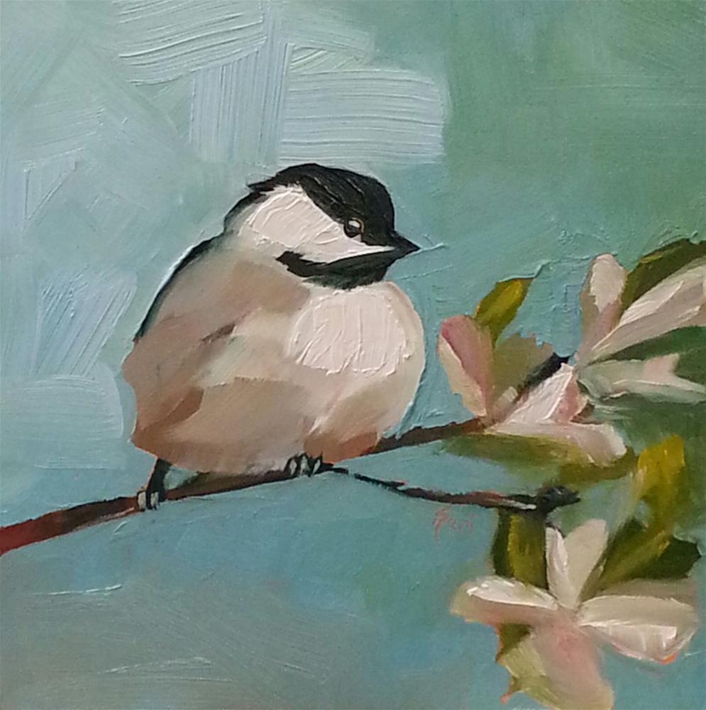 """Spring Messenger"" original fine art by Kari Melen"