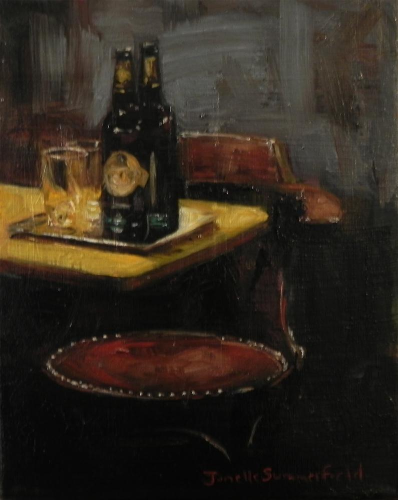 """Two Beers"" original fine art by Jonelle Summerfield"