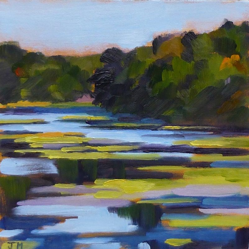"""Teatown Lake"" original fine art by Jessica Miller"