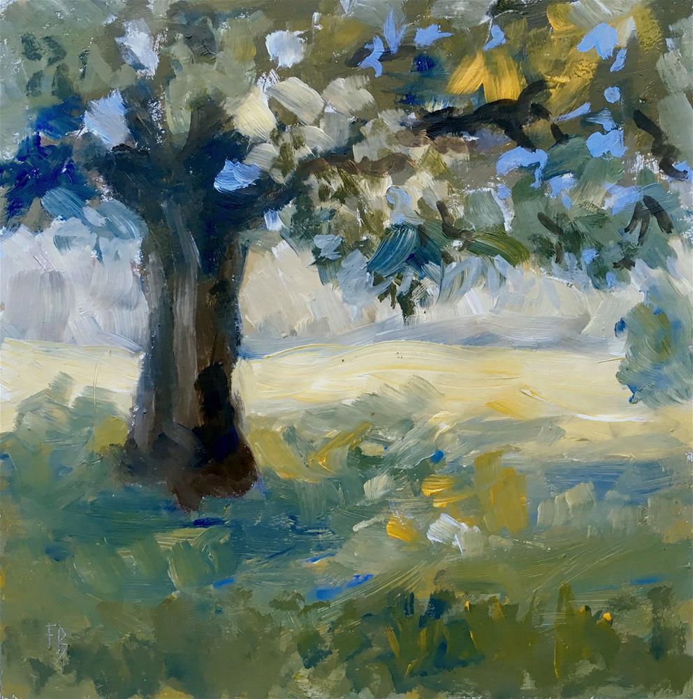 """""""079 Boerner Botanical Garden Tree"""" original fine art by Fred Bell"""