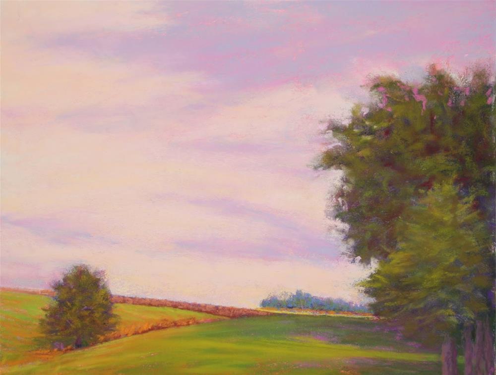 """Shady Refuge"" original fine art by Sharon Lewis"
