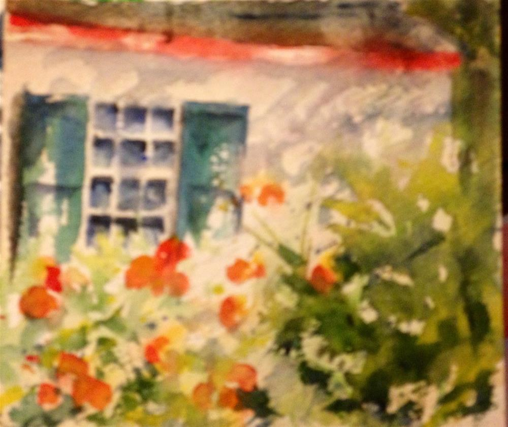 """""""St. Augustine from the Milltop"""" original fine art by Sue Dion"""