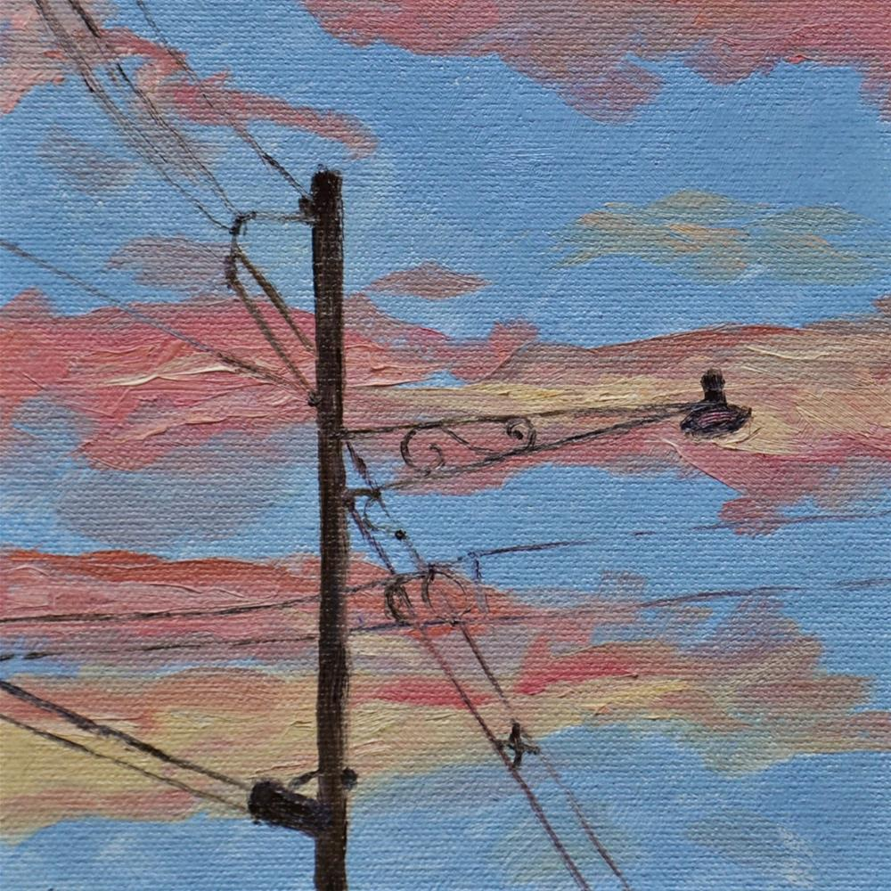 """Evening in Westfield"" original fine art by Theresa Gonzales"