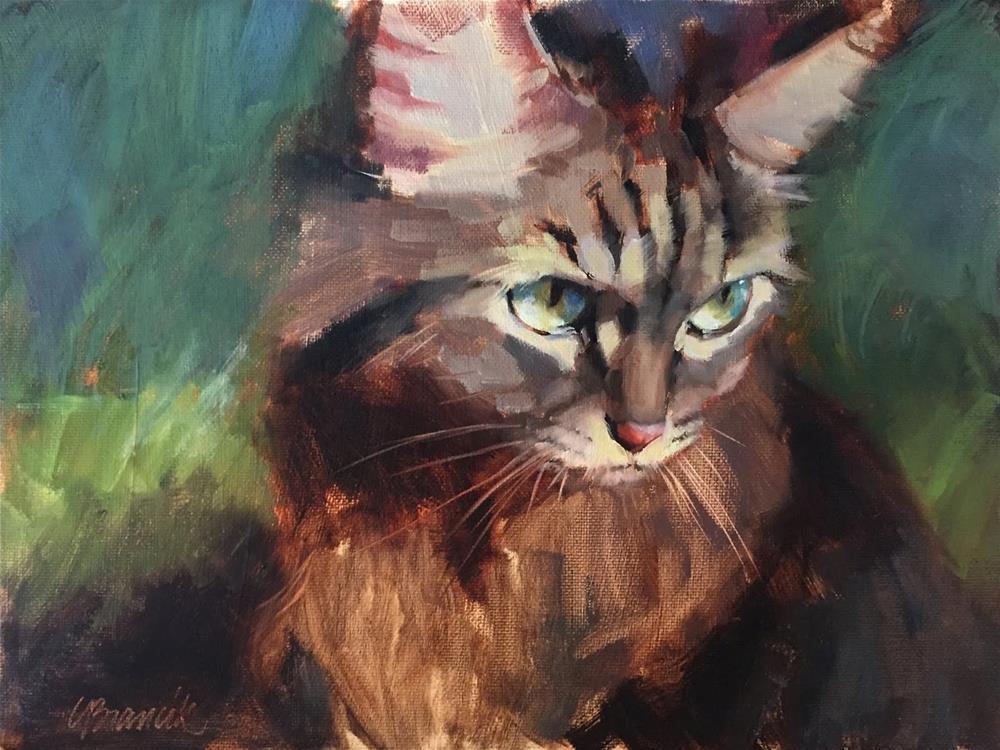 """""""Hunter"""" original fine art by Candace Brancik"""