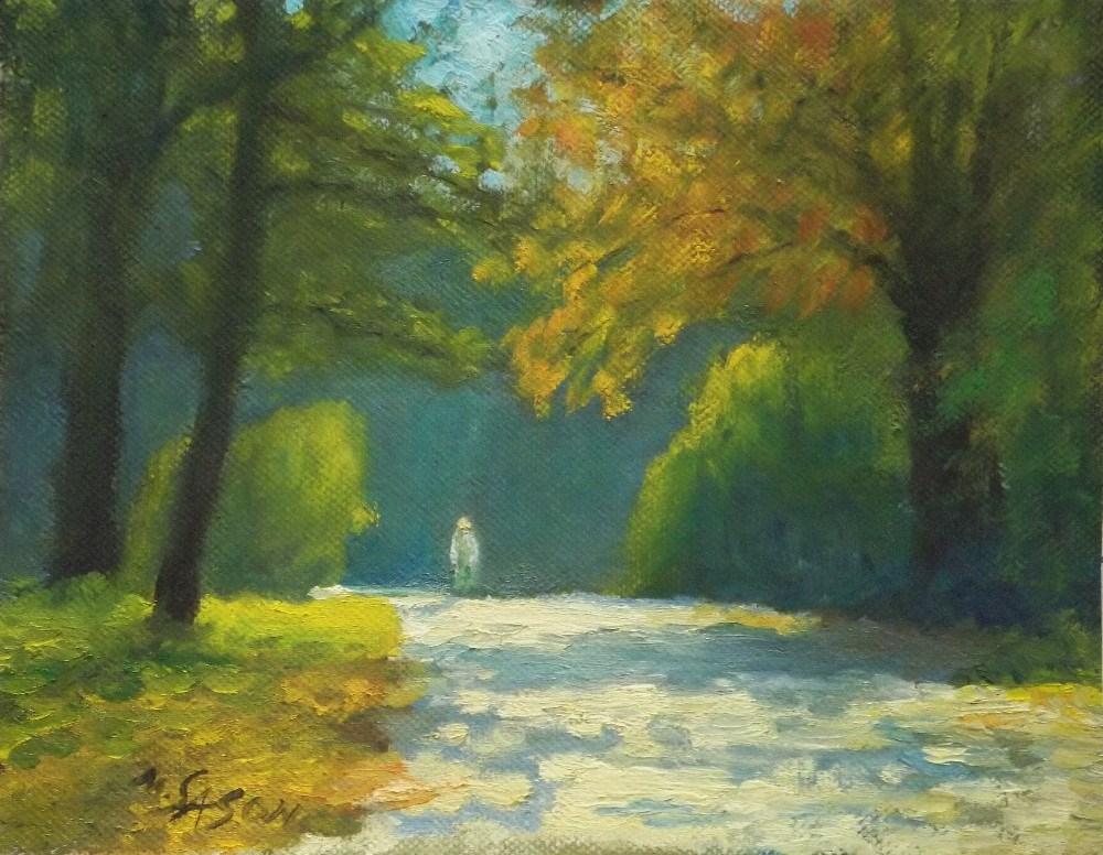 """Golden October"" original fine art by Michael Sason"