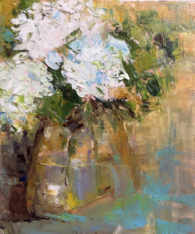 """Flowers for a Friend"" original fine art by Marcia Hodges"