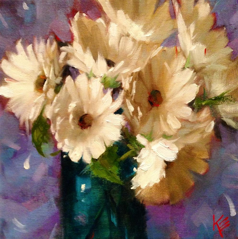 """""""Dreaming of Yesterday 12x12 on 1.5 gallery wrap"""" original fine art by Krista Eaton"""