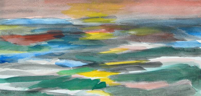 """""""Days Departure"""" original fine art by Donna Crosby"""