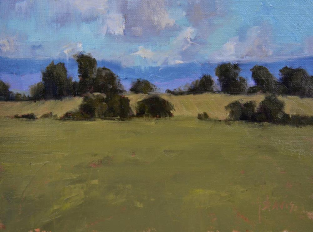 """Treelines"" original fine art by Julie Davis"