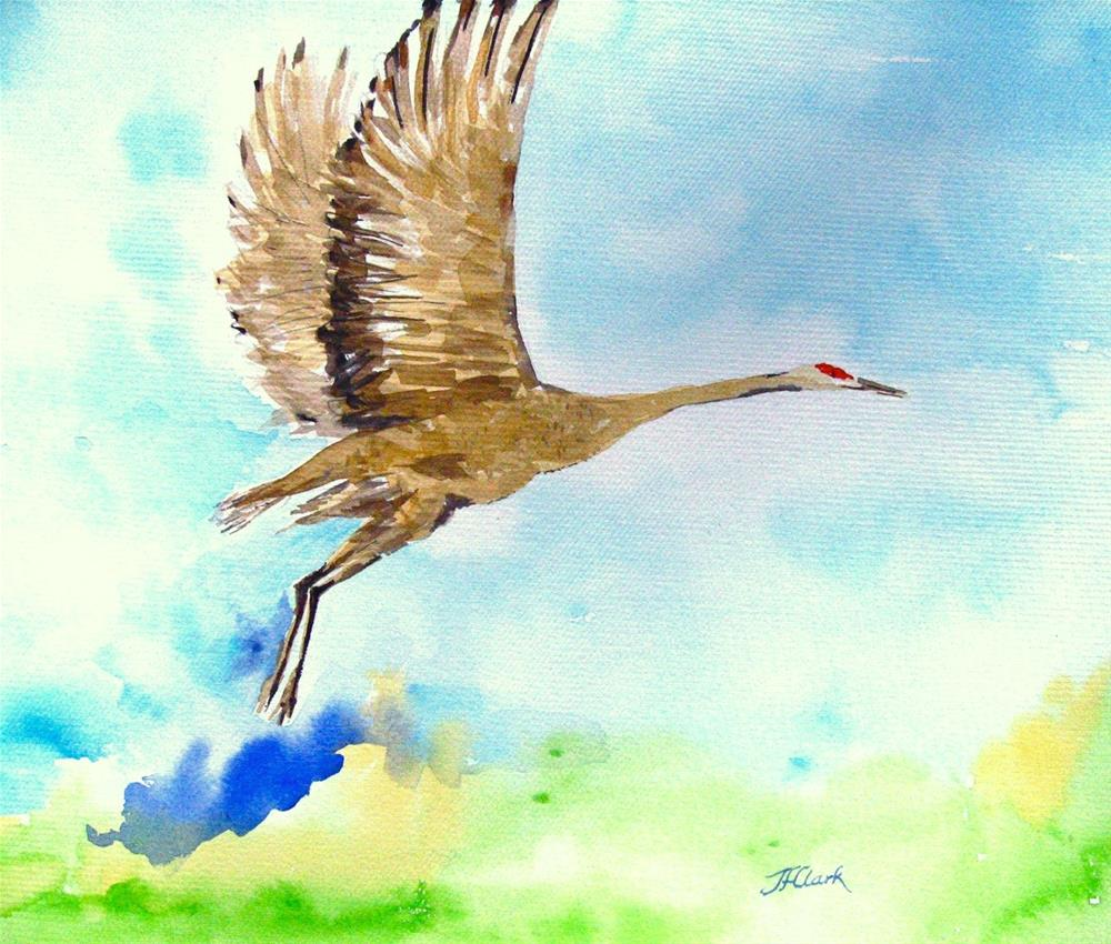 """Lift Off"" original fine art by Judith Freeman Clark"