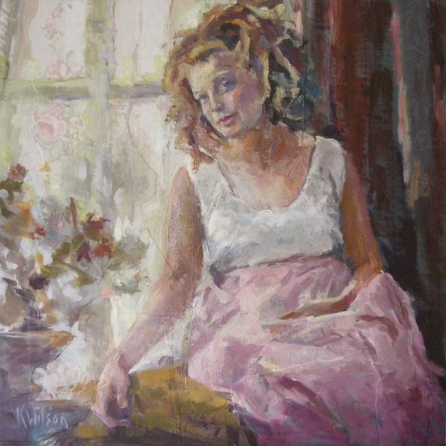 """""""The Hangover"""" original fine art by Katie Wilson"""