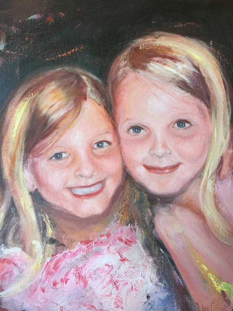 """Sisters"" original fine art by Rick Blankenship"