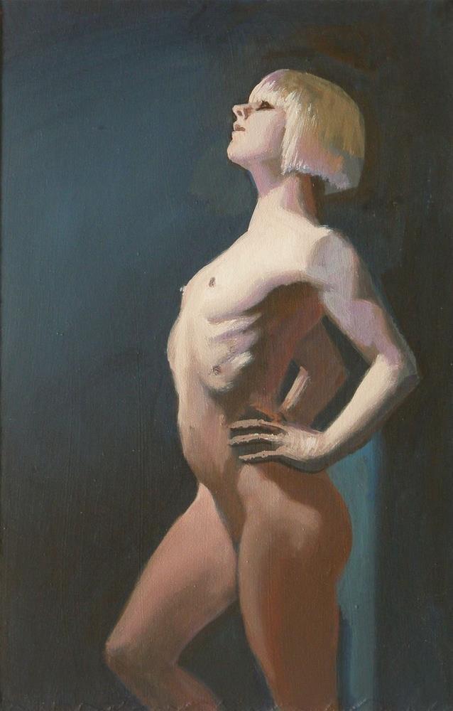 """""""Proud"""" original fine art by Peter Orrock"""
