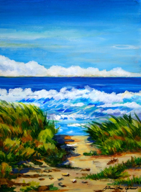 """""""The Way to There"""" original fine art by JoAnne Perez Robinson"""