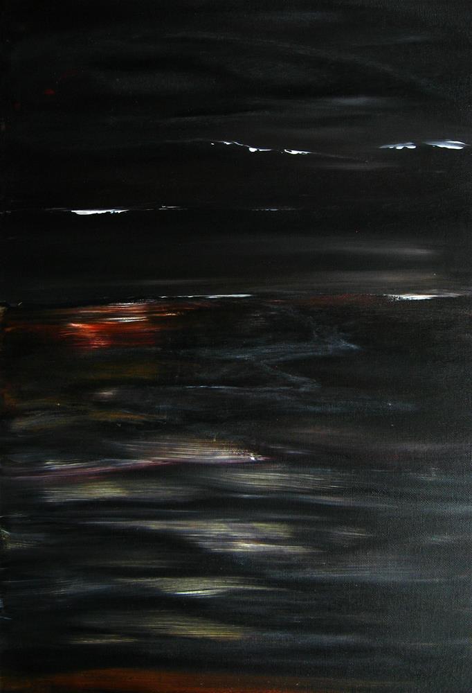 """Beauty Of The Night"" original fine art by Alina Frent"