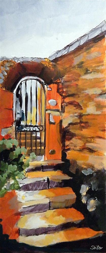 """2994 Doorway"" original fine art by Dietmar Stiller"