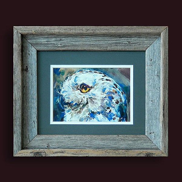 """Snowy Owl"" original fine art by Stephen Ravenscraft"