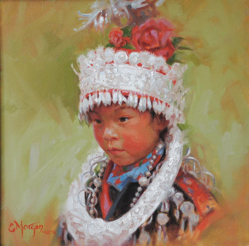 """""""To Such as These: Miao of China"""" original fine art by Cecile W. Morgan"""