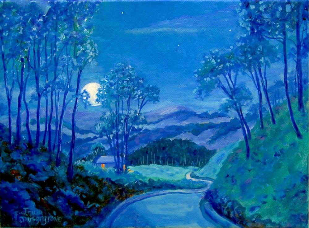 """""""The Road Home"""" original fine art by Patricia Musgrave"""