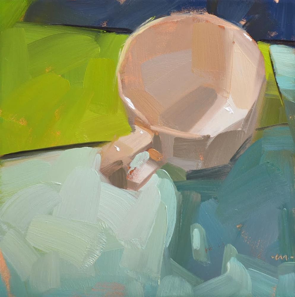 """Simple Cup 1"" original fine art by Carol Marine"