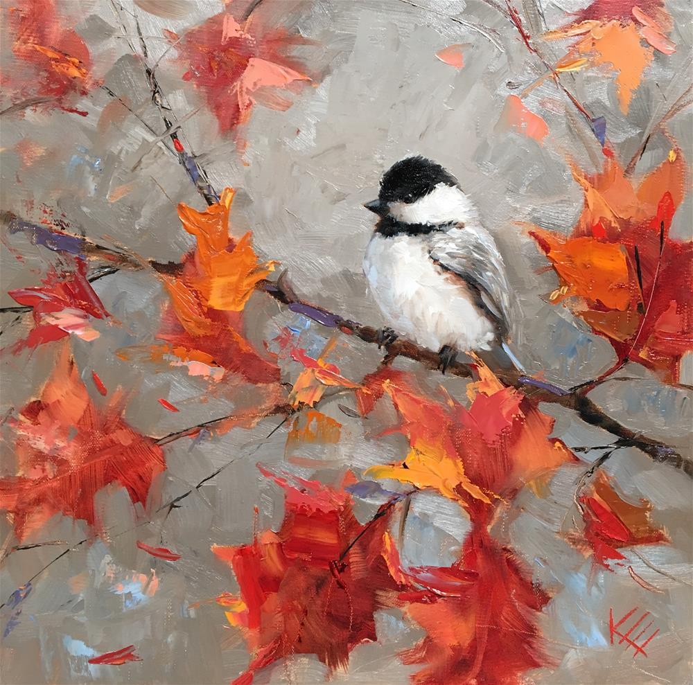 """Autumn Moment"" original fine art by Krista Eaton"