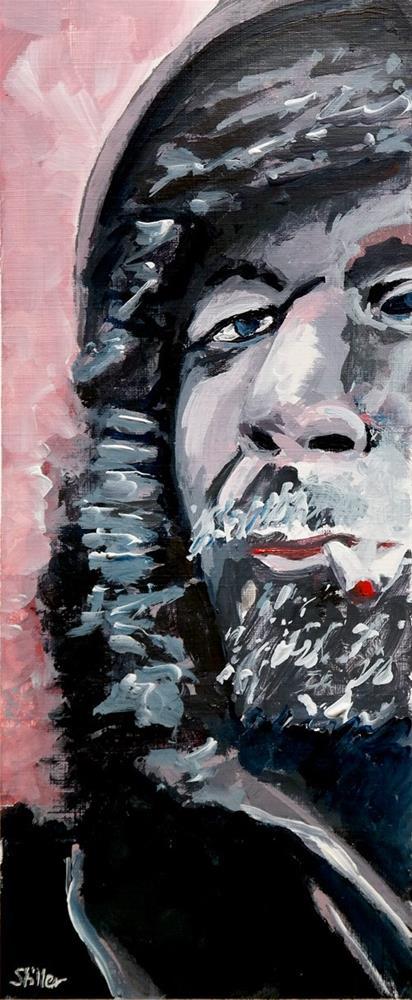 """""""2298 Muffled"""" original fine art by Dietmar Stiller"""