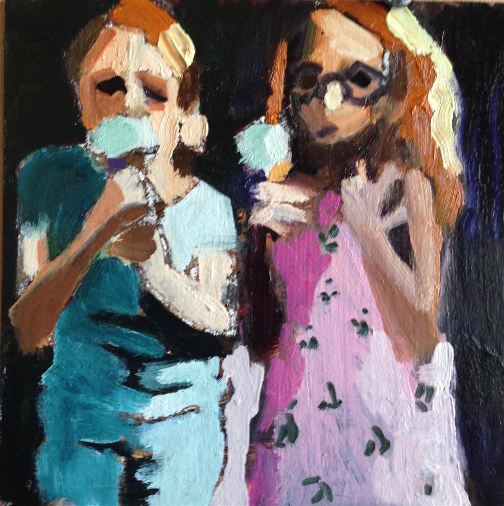 """Cone Cousins"" original fine art by Pamela Hoffmeister"