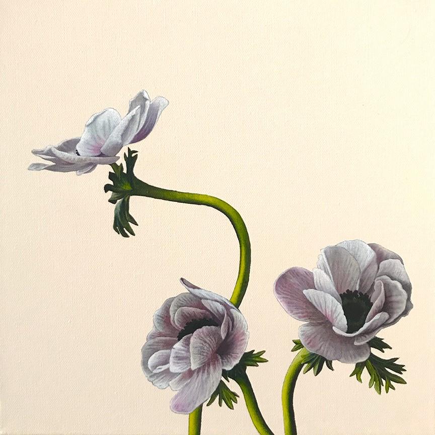 """""""In Bloom III"""" original fine art by Jelaine Faunce"""
