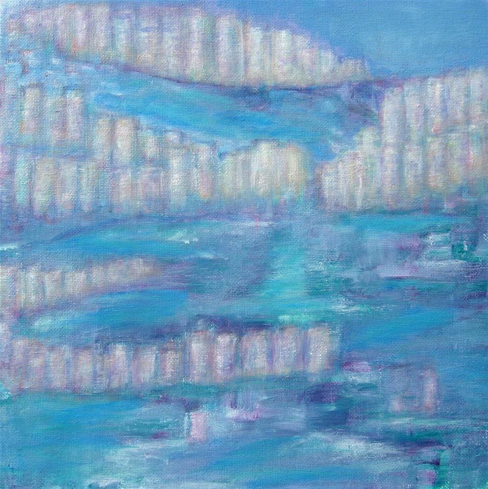 """City Ruins"" original fine art by Alina Frent"