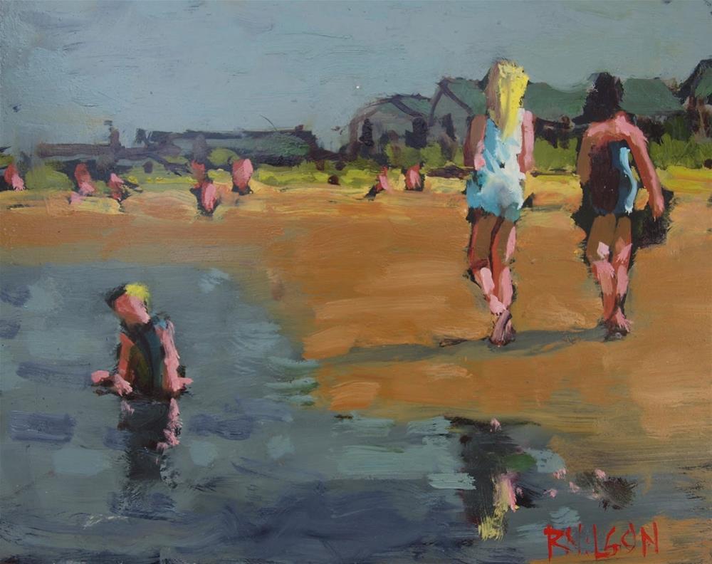 """Bleached Blonde"" original fine art by Rick Nilson"