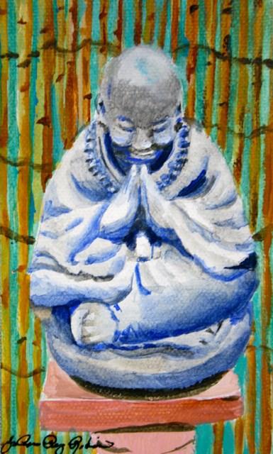 """Say a Little Prayer"" original fine art by JoAnne Perez Robinson"