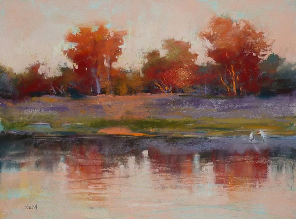 """Confessions of a Seasonal Painter"" original fine art by Karen Margulis"