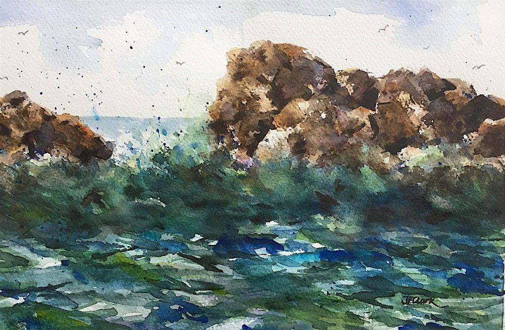 """Morning Tide"" original fine art by Judith Freeman Clark"