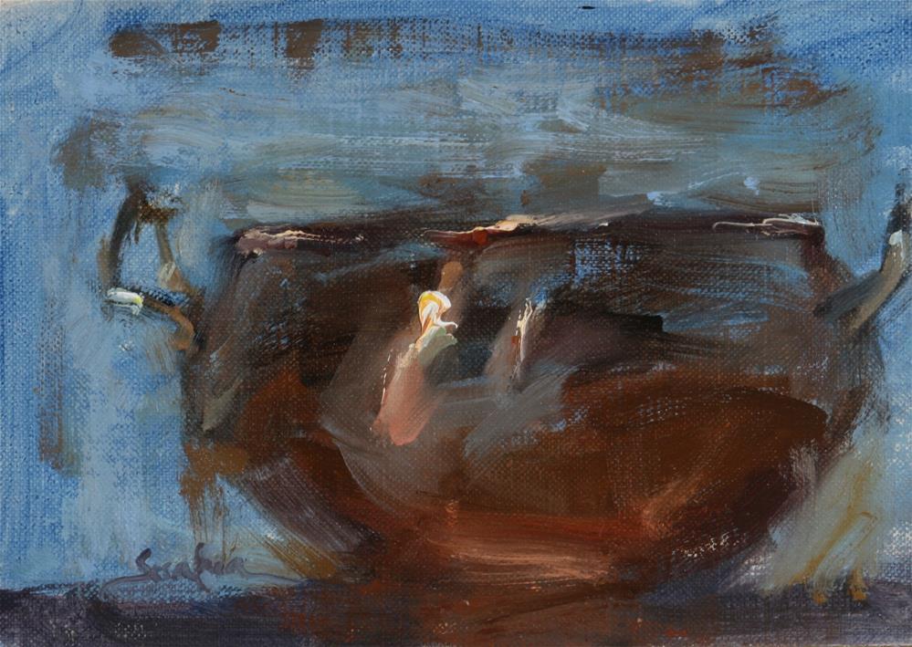 """""""Loose Copper"""" original fine art by Scott Serafica"""