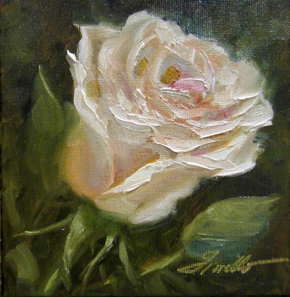"""December Roses"" original fine art by Pat Fiorello"