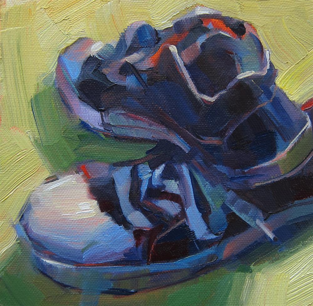"""""""Converse Low Tops"""" original fine art by Patti Mollica"""