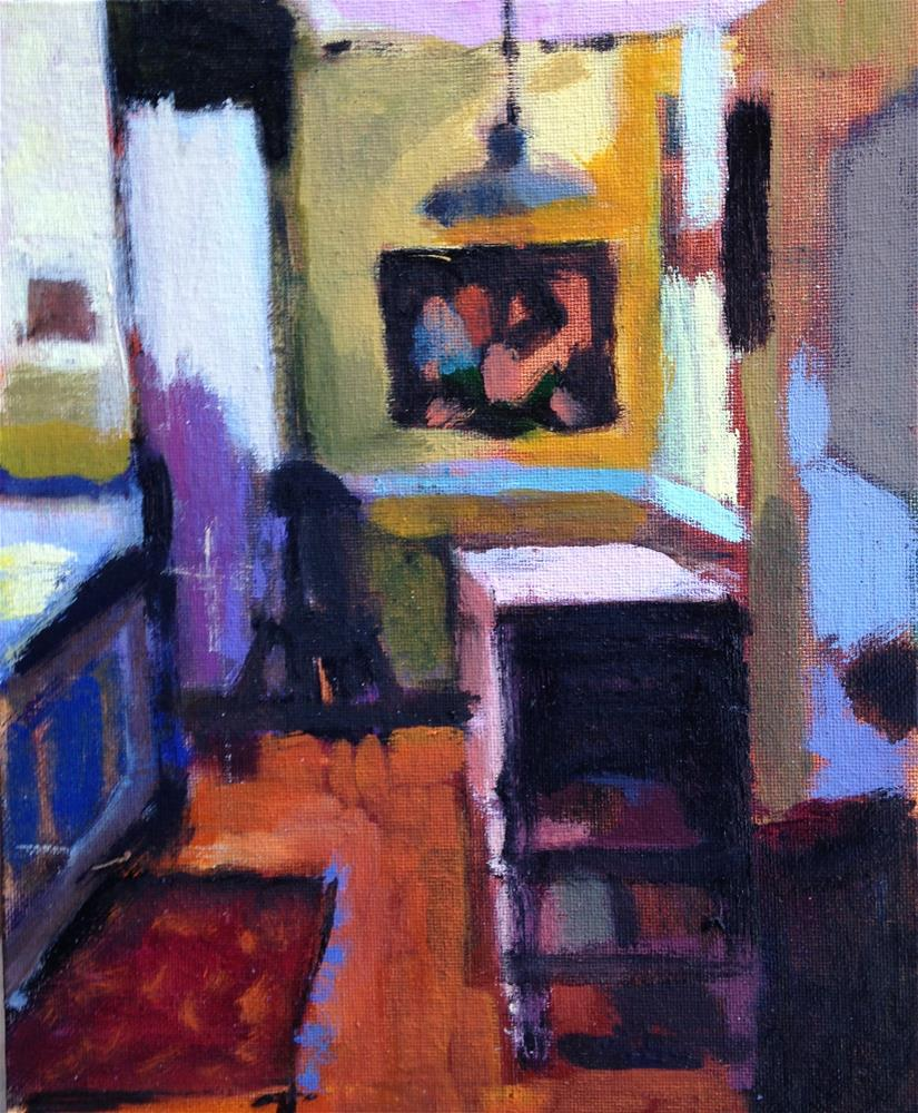 """Kitchen Interior-January 2016 II"" original fine art by Pamela Hoffmeister"