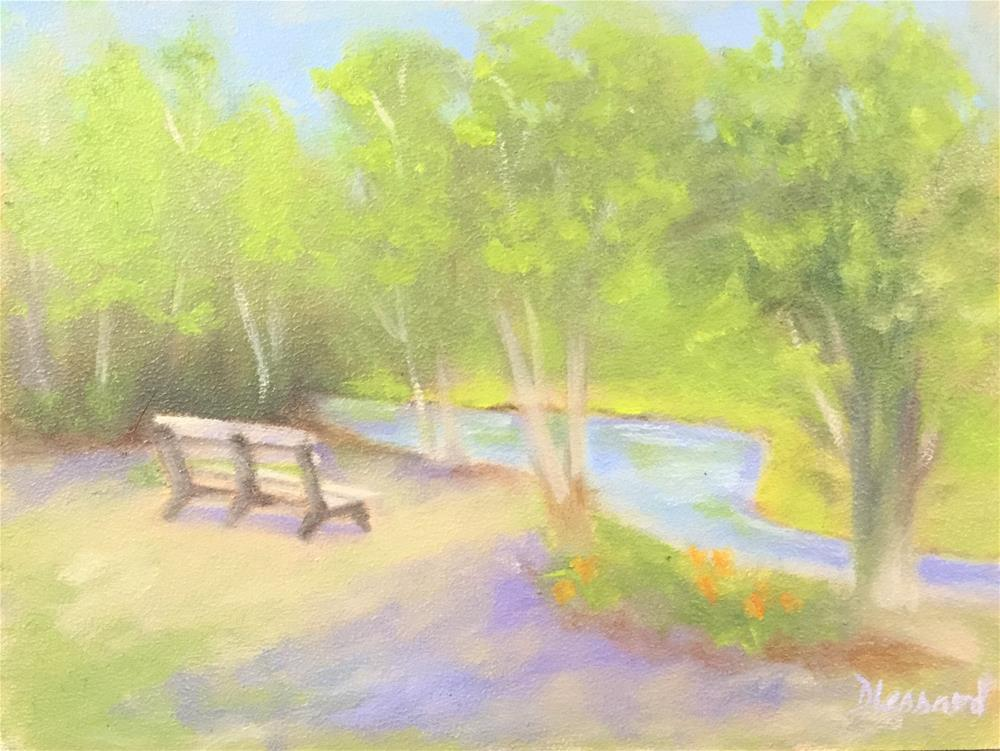 """Afternoon rest"" original fine art by Dee Lessard"